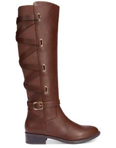 NEW Thalia Sodi Women's Veronika Western Boots Brown $110