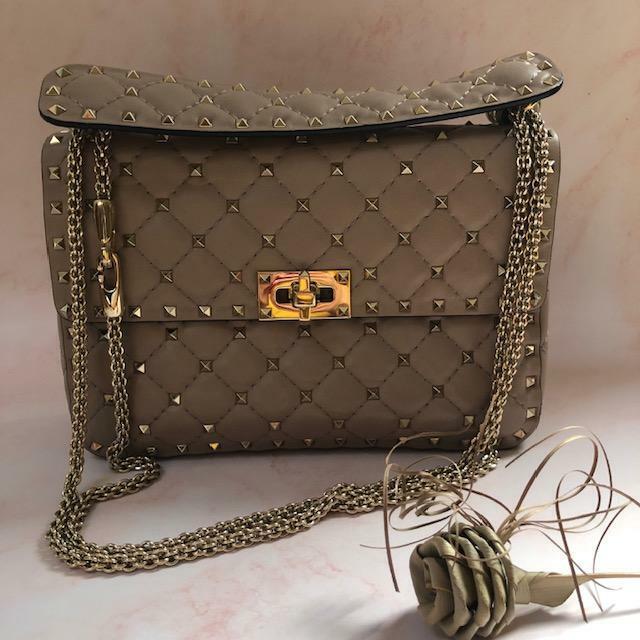 valentino Medium Rockstud Spike Leather