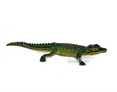 AAA 96522 Green Baby Crocodile Reptile Model Toy Replica - NIP