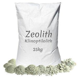 Zeolith 25 kg filtermaterial phosphatbinder zeolite zeolit for Phosphatbinder teich