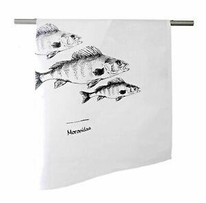 Geschirrtuch-Halbleinen-Tavolinas-Fisch-weiss-sand-stilvoll-mediterran