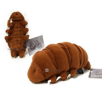 Sea Creature Tardigrade Water Bear Stuffed Plush Doll Toy (M / 18.5 cm / Brown)