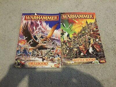 Metodico Warhammer Libro Delle Regole E Battaglia Libro-mostra Il Titolo Originale
