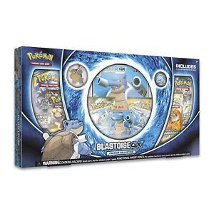 Pokemon-TCG-BLASTOISE-GX-Premium-Collection-Brand-New-And-Sealed-Box