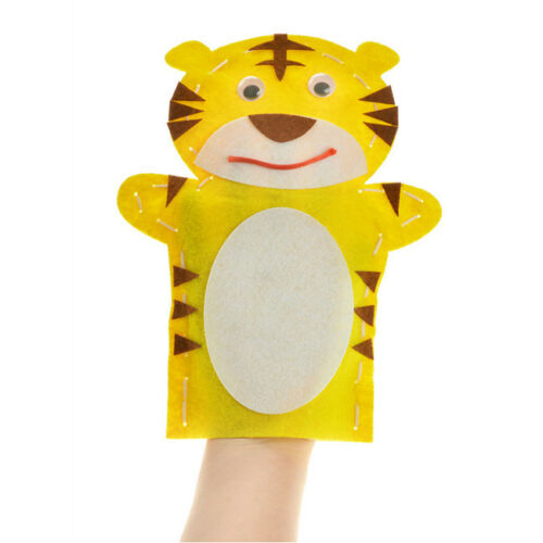 Self Made Animals Doll Kids Glove Finger Education Craft Toys L