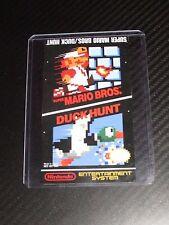 Super Mario Bros/Duck Hunt Nes Cartridge Replacement Game Label Sticker Precut