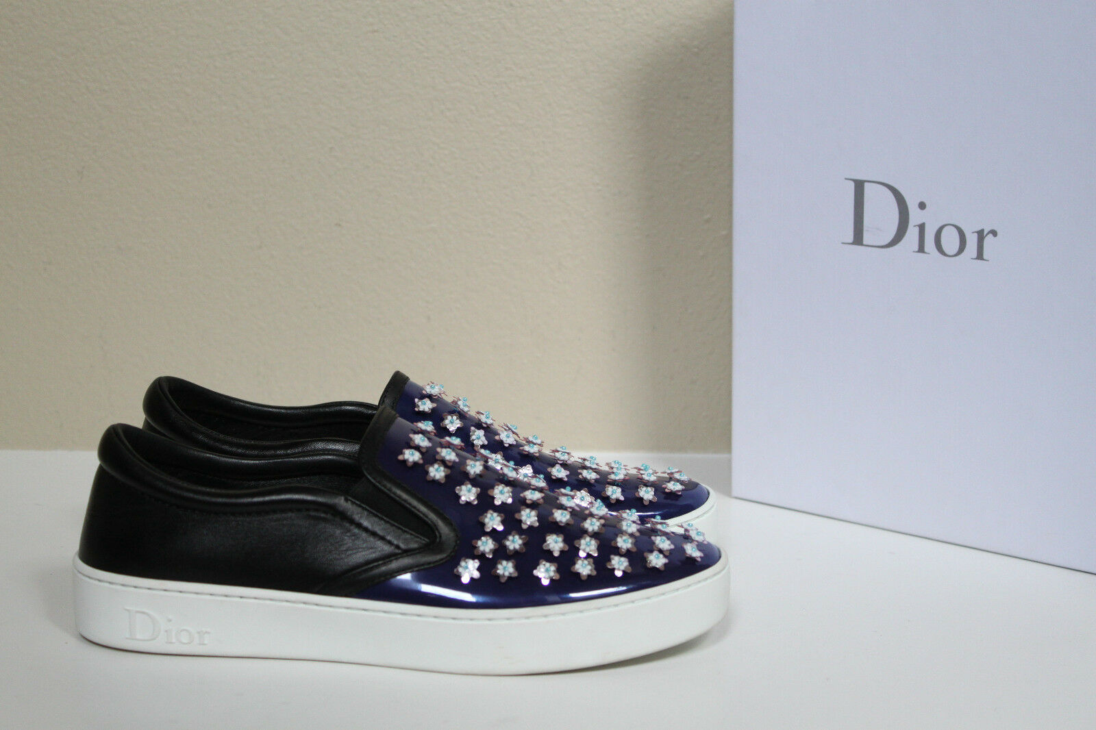 Rosie Assoulin 40.5 Donna Shoes Size 40.5 Assoulin NIB Flats Swarovski 008428