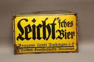 Leicht'sches Bier - Brauerei Leicht - Vrgänger Schwabenbräu Vaihingen Fildern