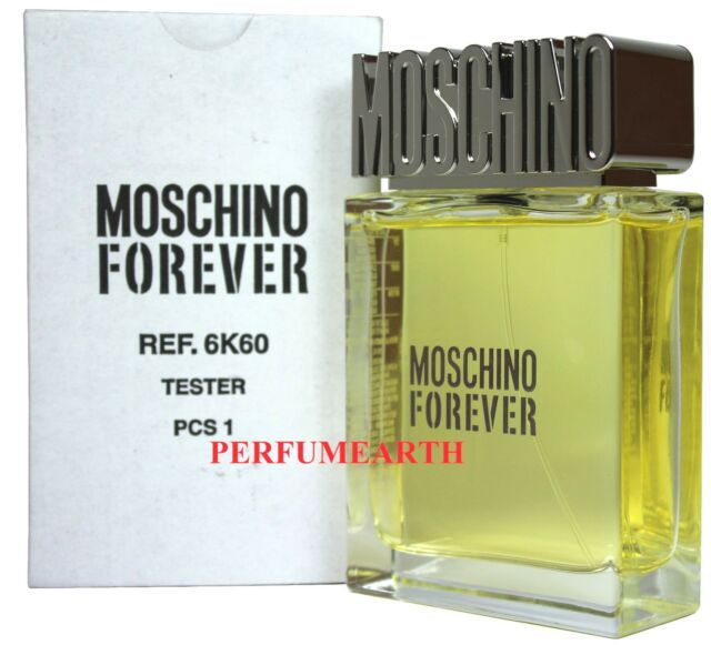 Forever By Moschino 3.3/3.4oz. Edt Spray Tester For Men New In Tester Box