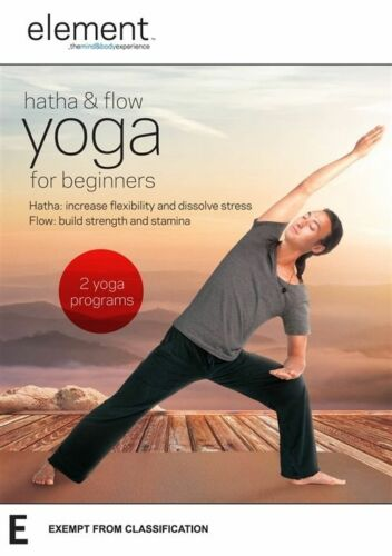 1 of 1 - Element: Hatha and Flow Yoga for Beginners - Tamal Dodge NEW R4 DVD