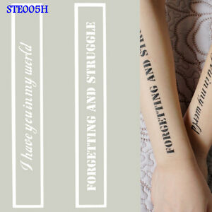 3348bf7f7 Image is loading OPHIR-A4-Reusable-Airbrush-Glitter-Temporary-Tattoo-Stencil -