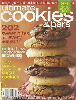 Ultimate Cookies and Bars magazine Chocolate Brownies Sugar Sandwiches Drops