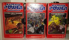 Captain Power and the Soldiers of the Future Custom DVD Training Videos VHS Game