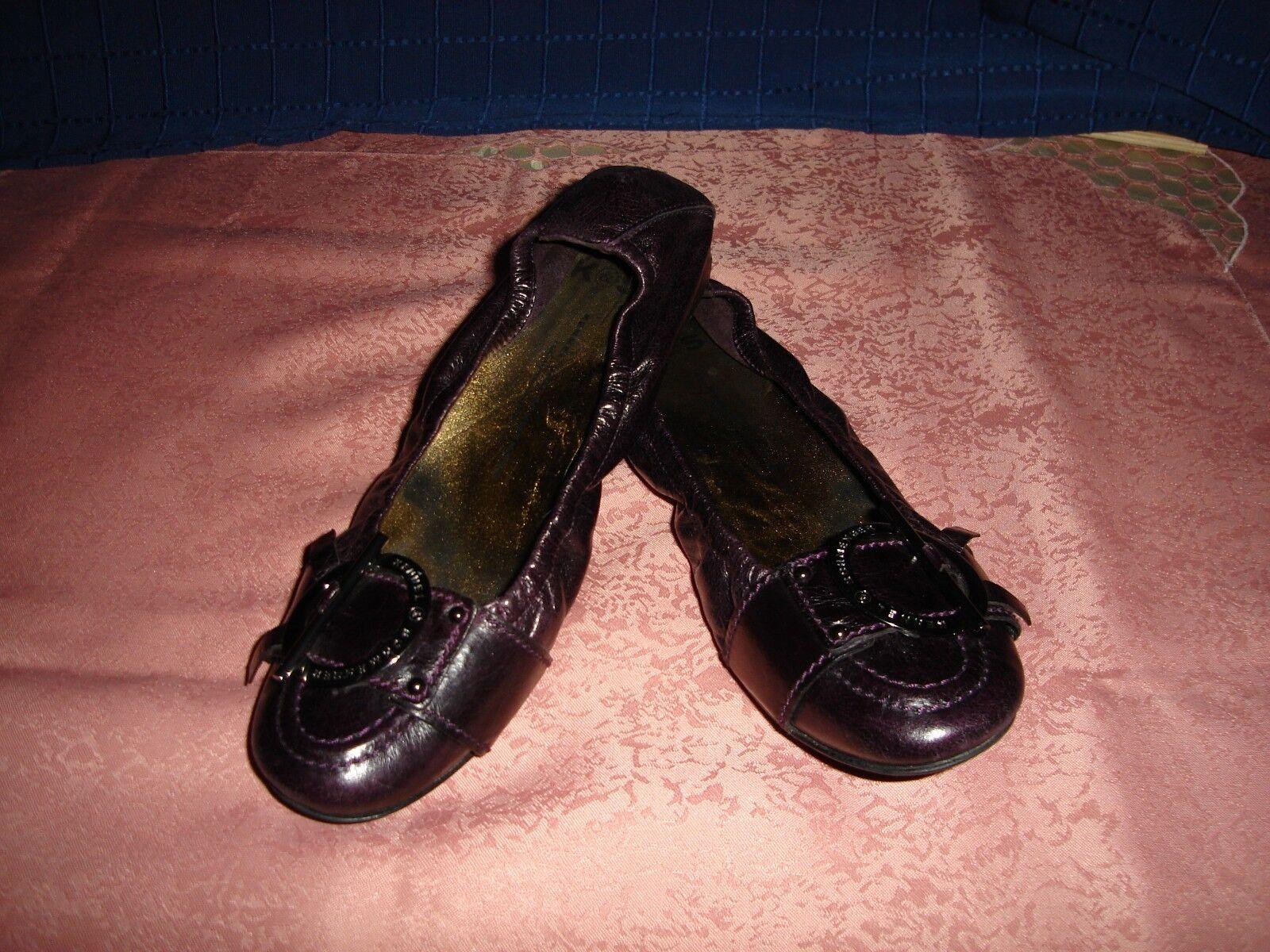 KENNEL & SCHMENGER Damenschuhe, Damen Schuhe Ballerinas Leder Gr. 40 ½   UK 7