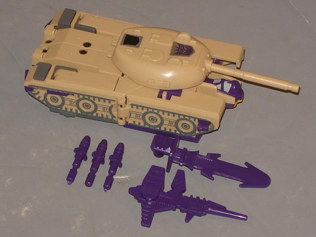 G1 Transformer Decepticon triple Cambiador Blitzwing  Original  completa   3 Buen