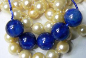 5 Rare Grosse Naturel Chatoyant Rond Bleu Cyanite Perles 11mm Phénoménal Couleur GBVWtseO-09122652-388321118
