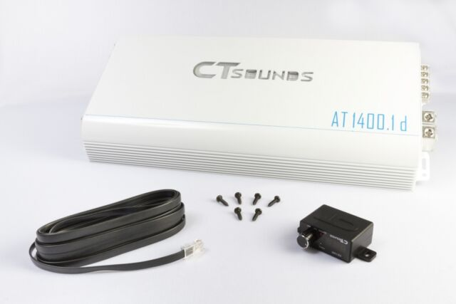 *REFURBISHED* CT Sounds AT-1400.1D Car Audio 2800W Power Class D Mono Amplifier