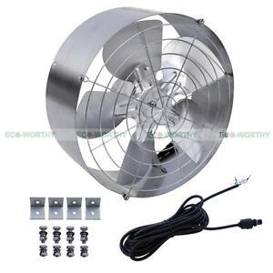 3000 Cfm 65w 14 1 2 Quot Attic Ventilator Fan Gable Vent