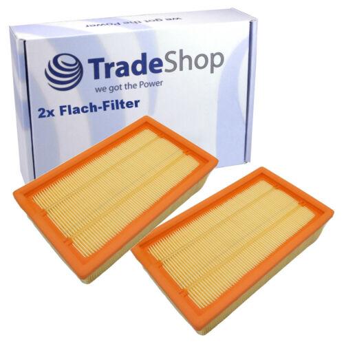 2x Piatto Pieghe-Filtro per Kärcher NT 55//1 Tact//TE//M NT 55//1 ECO NT 55//1 ECO TE