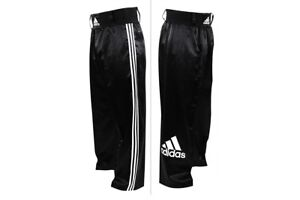 Adidas Kickboxing Kick Título Satén Boxing Blanco Pantalones Hombre Ver Para Gimnasio Negro Detalles De Original 0PXNOwk8nZ
