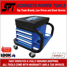888 TOOLS (by SP Tools) MECHANICS WORKSHOP ROLLER CREEPER SEAT 3 DRAWER T8R58