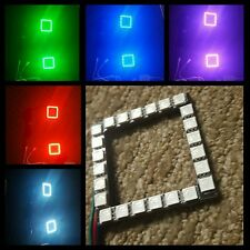 """3"""" LED Pod Color-Changing RGB Halos W/ Remote Kit BEST QUALITY available"""