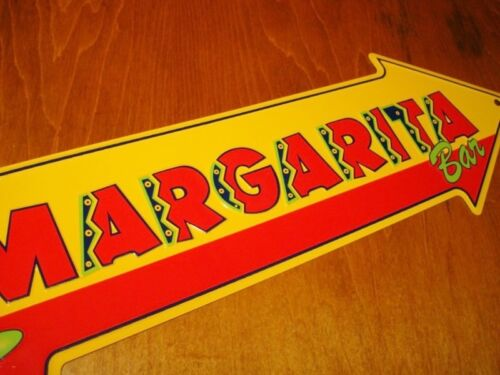 MARGARITA BAR ARROW Mexican Restaurant Cantina Tiki Pub Home Decor Sign NEW