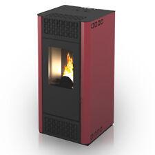 Stufa a pellet ventilata Alyssia 6,7 kw riscaldamento casa