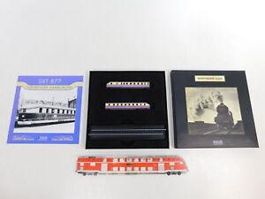 Ca766-0-5-Minitrains-Atlas-Piste-Z-factice-Diesel-Locomotive-SVT-877-Neuw-neuf-dans-sa-boite