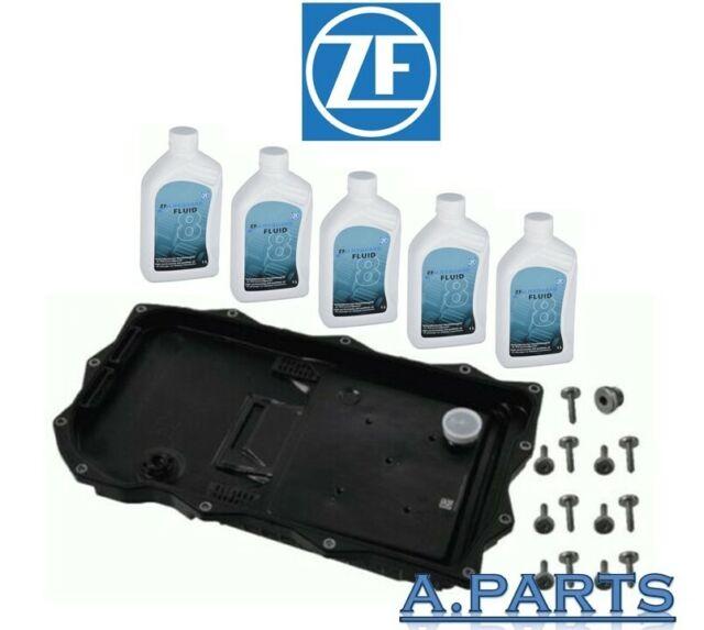 Zf Cambio Aceite Juego Completo Cárter Junta Tornillos 5L BMW 3er 5er 7er X3 X5