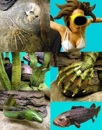 Devonian Encounter Creature /& Julia Adams Model Kit 05CMM01