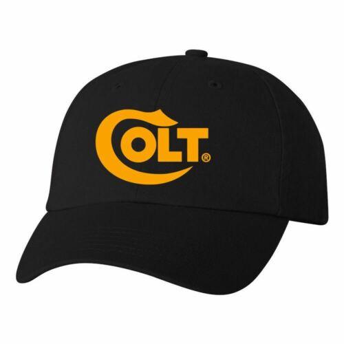 Colt Logo Dad Hat Pro Gun Brand 2nd Amendment Firearms Rifle Ball Cap New Black