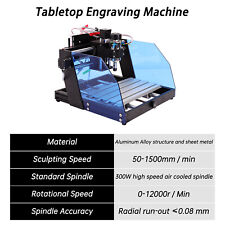 300w Cnc 3020 Router Engraver Diy Wood Milling Carving Machine Usa