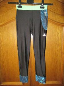 Decathlon Sporthose Leggings Gr 2 Xs Schwarz Bunt Ebay