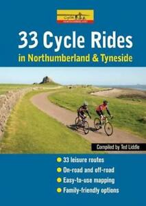 Cycle-Rides-in-Northumberland-and-Tyneside-by-Liddle-Ted-Paperback-Book-978