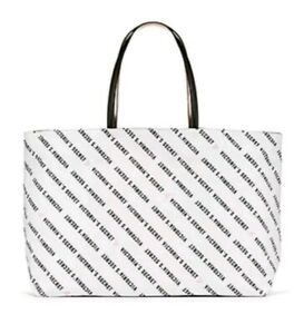 Tote Bag 2019 Two Sided Black White Nwt