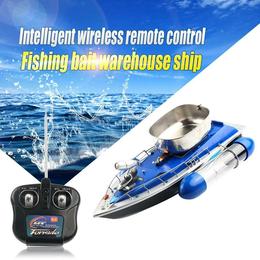 Wireless Electric RC pesca Adventure Lure Bait Boat Fish Finder BatteryControl