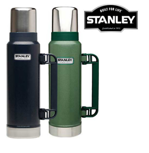 NEW  1.3L STANLEY FLASK STAINLESS STEEL VACUUM BOTTLE CLASSIC THERMOS HOT DRINKS  buy 100% authentic quality