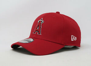 NEW-ERA-39Thirty-MLB-Los-Angeles-Angels-TM-Classic-Red-Stretch-Fit-Cap-Men-Hat