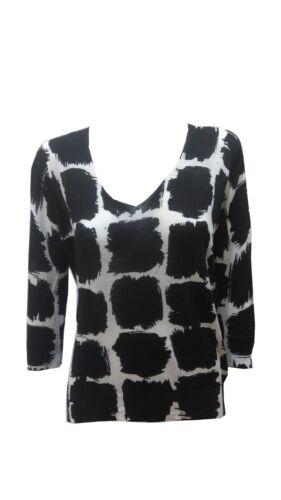 Balenciaga Wool Windowpane Blouse