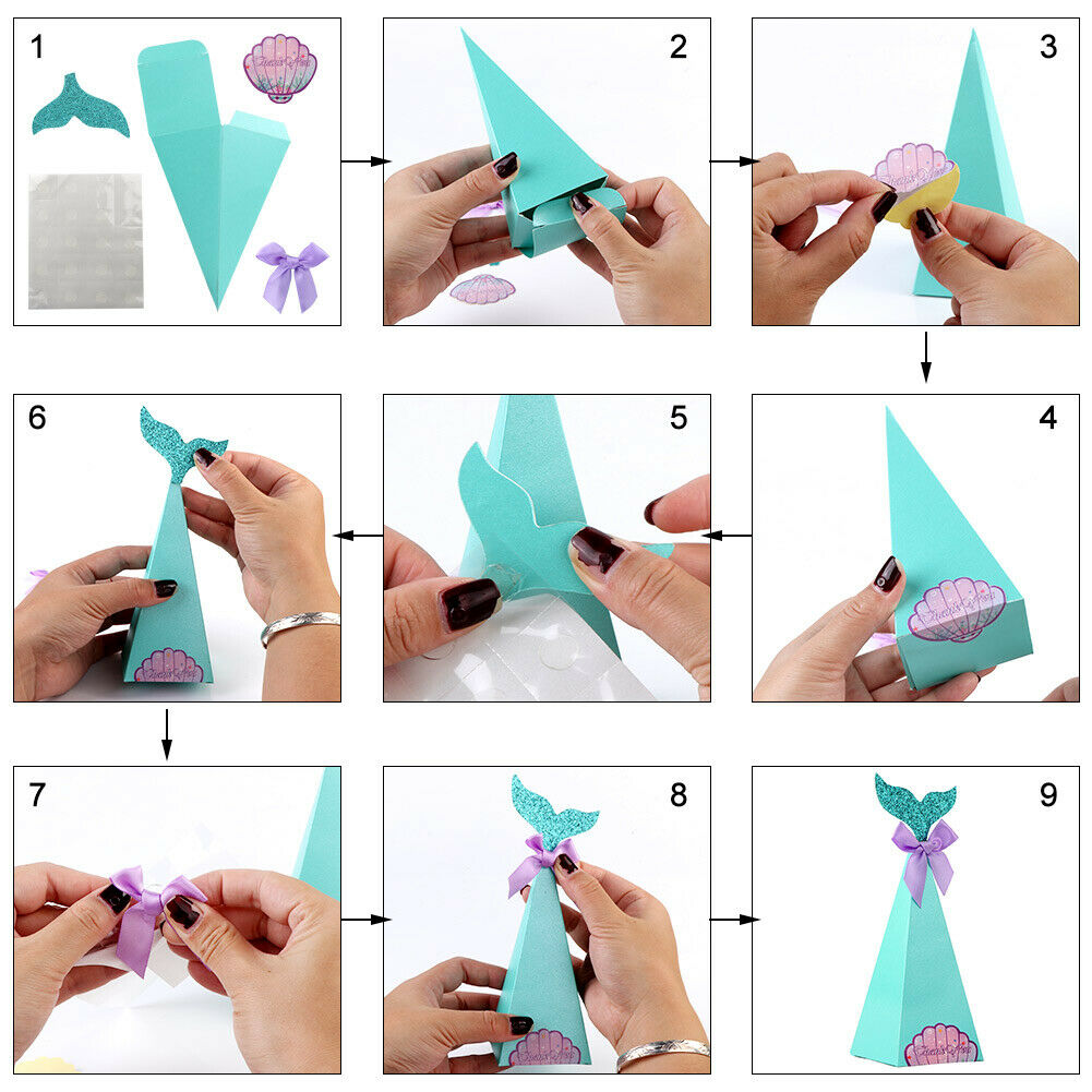 Easy Origami DIY Craft : How To Make Origami Candy Box! | 1001x1001