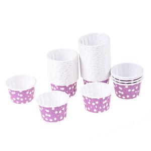 Papel-alta-calidad-100x-MINI-Muffin-Cup-Cake-Liner-Fundas-para-hornear-Varios-UH