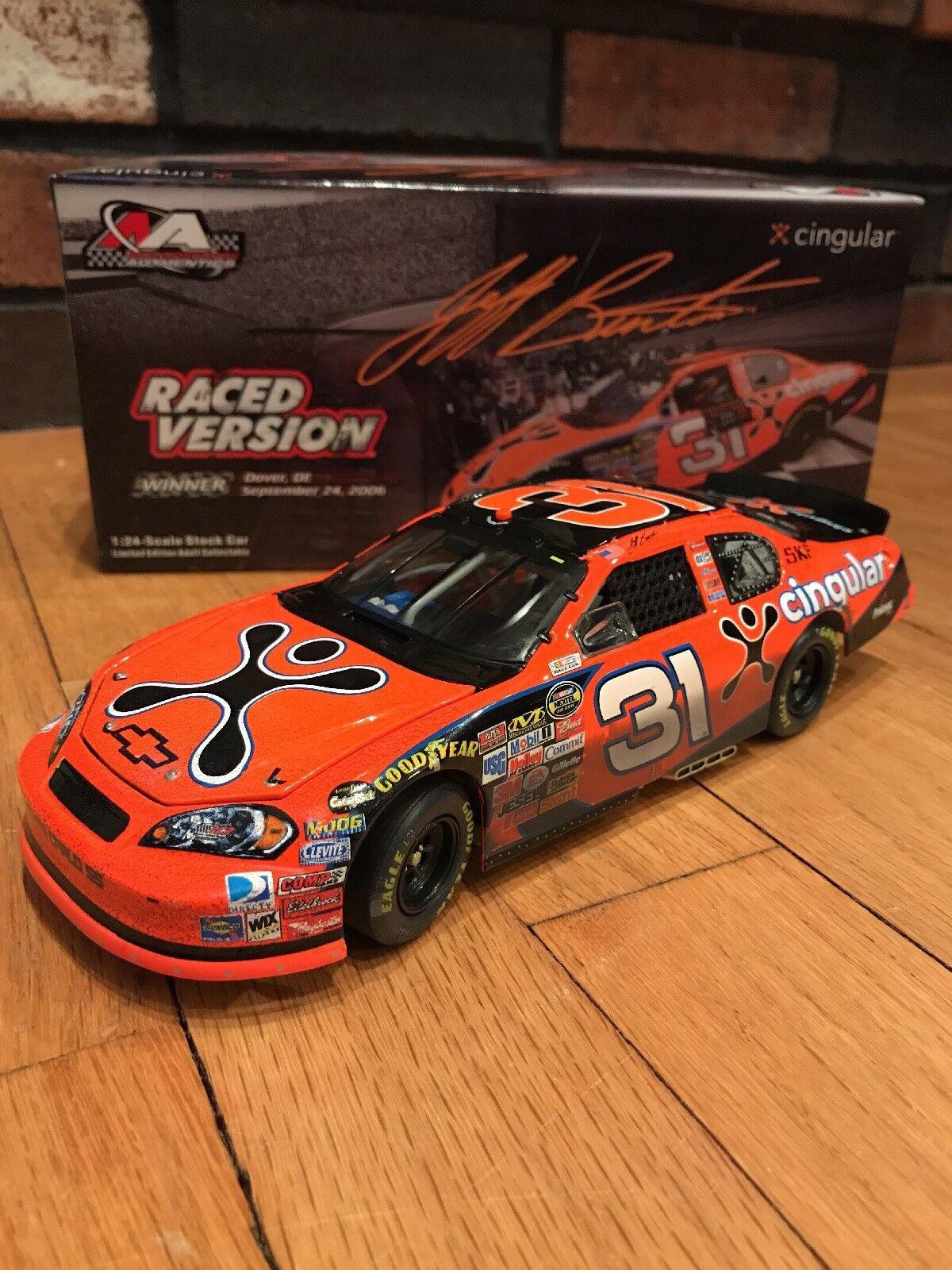 Jeff Burton Dover Raced 2006 Cingular