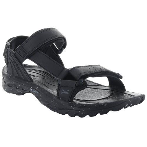 MENS HI-TEC WILD-LIFE VYPER BLACK LIGHTWEIGHT ADJUSTABLE STRAP WALKING SANDALS