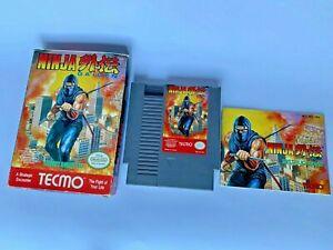 NINJA-GAIDEN-NES-1989-Tecmo-Nintendo-CIB-Original-Box-Game-Manual