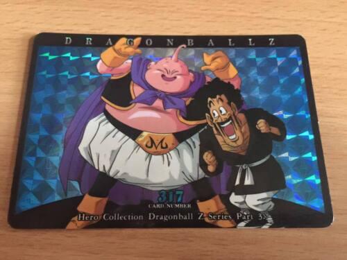 Carte Dragon Ball Z DBZ Hero Collection Part 3 #317 Prisme 1995 MADE IN JAPAN