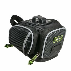 RockBros-Bicycle-Saddle-Seat-Bag-MTB-Road-Bike-Cycling-Waterproof-Bag-Black