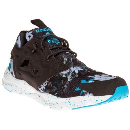 con encaje deporte en de Nylon negro Gris Zapatillas estilo Nuevo color Furylite Reebok de wnvTqOgEW