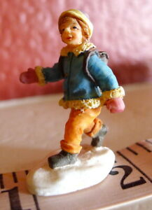 Grandeur-Noel-Village-Victorian-Boy-with-backpack-Christmas-2001-miniature