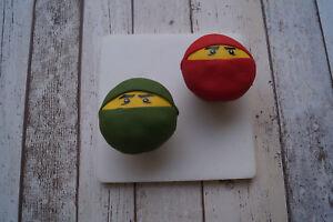 Ninjago Tortendeko Muffin Aufleger Cupcake Kuchen Torte